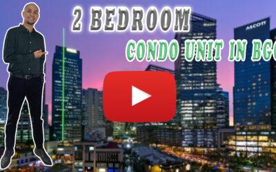 2 BEDROOM CONDO UNIT IN BGC, TAGUIG