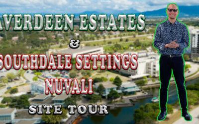 AVERDEEN ESTATES & SOUTHDALE  SETTINGS NUVALI SITE TOUR