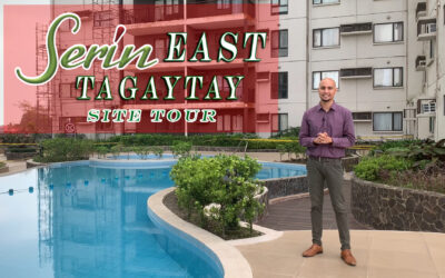 SERIN EAST TAGAYTAY SITE TOUR